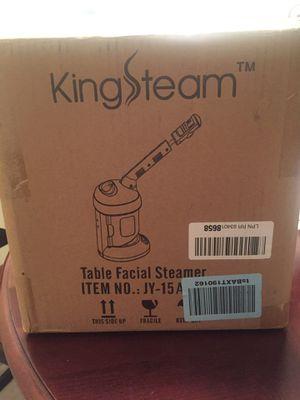 Brand New!! Kingstream Table Facial Steamer for Sale in Nashville, TN
