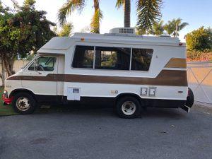 1978 dodge chinook rv camper van for Sale in Encinitas, CA