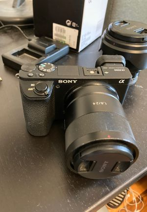 Sony a6500 Mirrorless Camera BODY ONLY + Case for Sale in Edmonds, WA