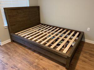 Queen Bed Frame Platform Bed for Sale in Alexandria, VA