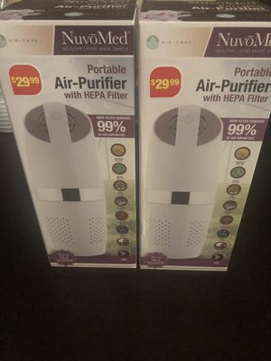 Portable Air- Purifier with HEPA Filter for Sale in Friendswood, TX