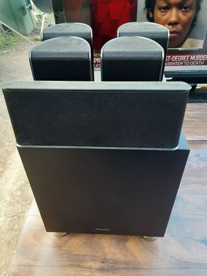 Pioneer 5 Speakers surround sound bundle with subwoofer for Sale in Washington, DC