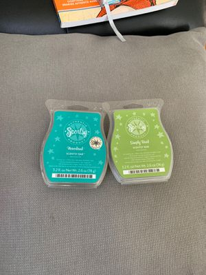 2 Scentsy Bars, Neverland, and Simply Basil for Sale in Las Vegas, NV