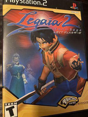 Original PlayStation 2 -PS2 Legaia 2 Duel Saga Game for Sale in Surprise, AZ