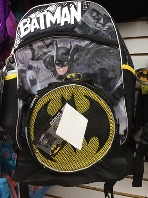 Batman backpack and lunch pail for Sale in Fontana, CA