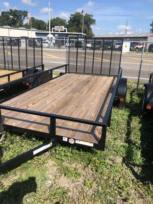 Utility trailer 6.4x12Sa @ Brothers Trailers for Sale in Tampa, FL