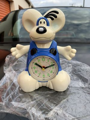 CUTE ~~Mouse ~~ Battery OPERATED MELODY ALARM CLOCK BRAND NEW for Sale in Lakewood, CA