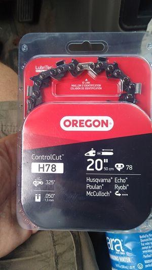 "(2) Oregon 20"" Chainsaw Chain for Sale in Ocoee, FL"