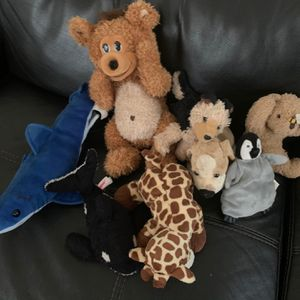 Soft Zoo Toys And Teddy Bears for Sale in Fort Lauderdale, FL