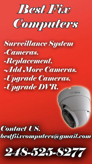 Cameras + DVR for Sale in Bloomington, IL
