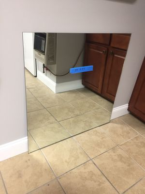 Large mirror 34x34 for Sale in Lancaster, PA