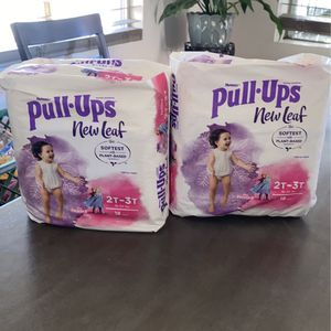 Huggies Pull Ups 2t 3t for Sale in Phoenix, AZ