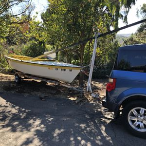 1983 Hobie Holder 14 With trailer, excellent for Sale in San Diego, CA