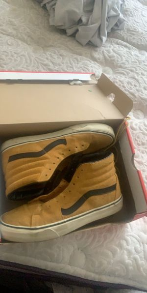 """Gold and black"" Vans (Men) for Sale in AMELIA CT HSE, VA"