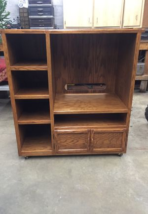 Wooden Entertainment Center for Sale in Acme, PA