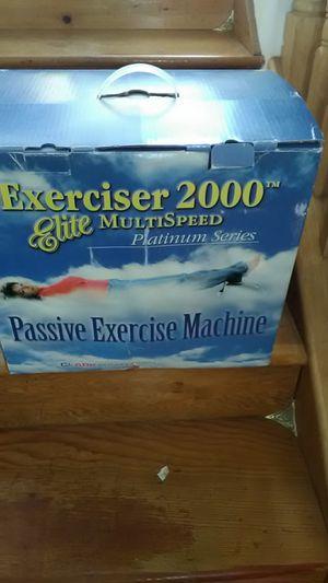 Exerciser 2000 elite multi-speed Platinum Series for Sale in Coronado, CA