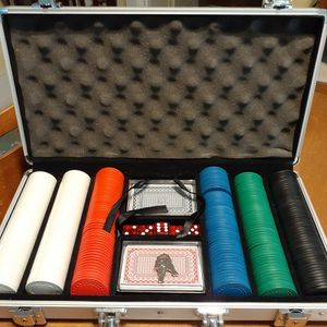 300 Piece Casino Size Poker Card and Chip Set for Sale in San Diego, CA