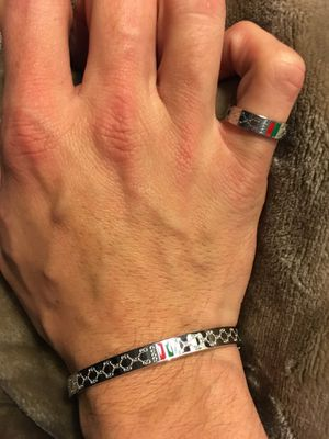 Gucci ring and bracelet for Sale in Salinas, CA