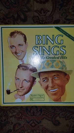 Bing sings 96 of his greatest hits 8 records for Sale in Snoqualmie, WA
