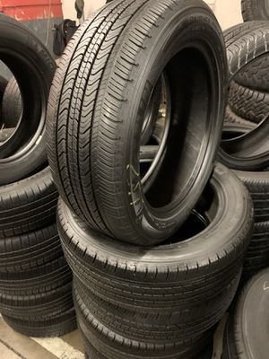 215/55/17 set of Michelin tires installed for Sale in Rancho Cucamonga, CA