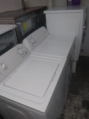 admiral washer and dryer gas nice set for Sale in Houston, TX