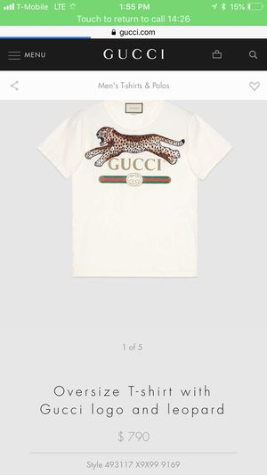 Gucci t shirt sz L for Sale in Seattle, WA