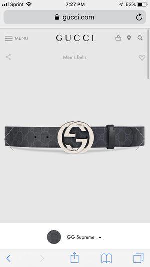 Gucci belt for Sale in Boston, MA