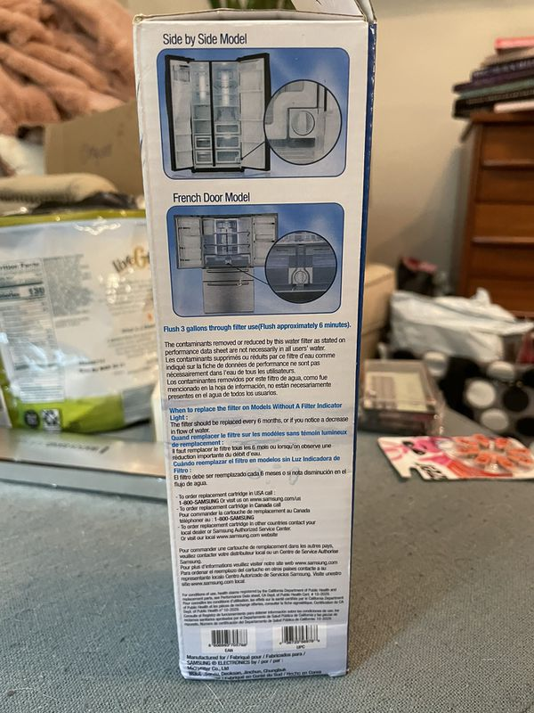 Samsung genuine water filter for refrigerator replacement cartridge DA29- 00020B