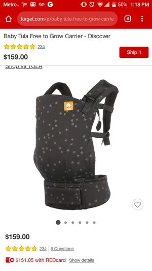 BRAND NEW TULA BABY CARRIER for Sale in Nashville, TN