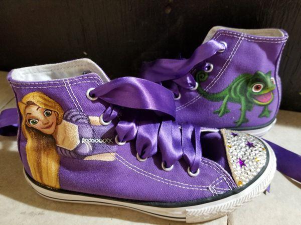 Rapunzel Converse Size 1.5