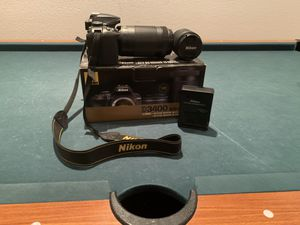 Nikon D3400 Black for Sale in Las Vegas, NV