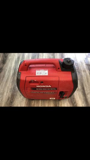 Honda EB2200i 2,000-Watt 121cc Recoil Start Portable inverter Generator $700 for Sale in Los Angeles, CA