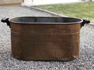 Copper Tub/Basin for Sale in Glendale, AZ