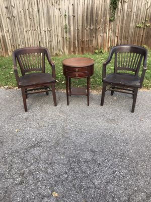 Antique chairs and table for Sale in Arnold, MD