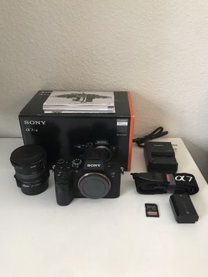 Sony A7RIII camera and accessories for Sale in Portland, OR