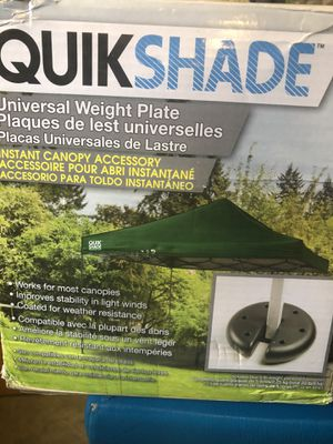Quikshade Universal Weights for Sale in Tacoma, WA