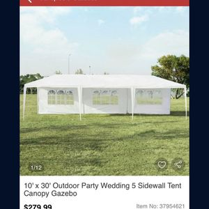 10x30 Canopy for Sale in Hanford, CA