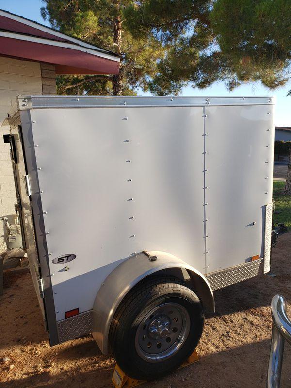 Look 4x6 enclosed trailer