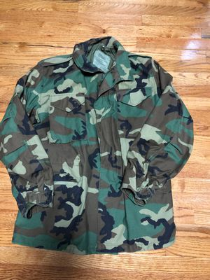 Military issue Camouflage Jacket for Sale in Thompsonville, MI
