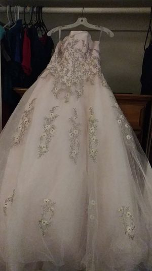 Light Pink Ballgown Dress for Sale in San Diego, CA