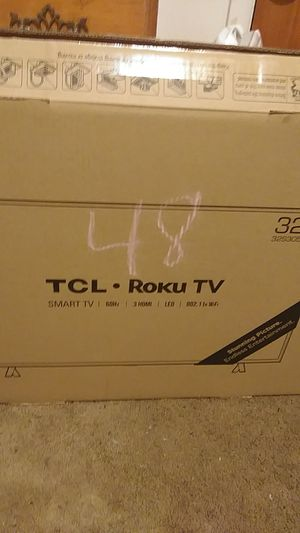 "TCL. Roku TV. Smart TV. 32"" for Sale in Oakridge, OR"