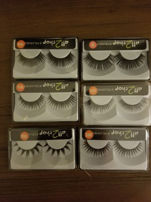 Single Lashes pack set of 6 for Sale in Whittier, CA
