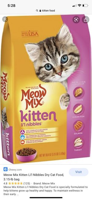 """""""Kittens"""" food for Sale in Los Angeles, CA"""