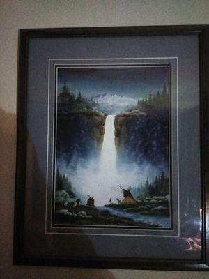 Original Menchego watercolor for Sale in Grapevine, TX
