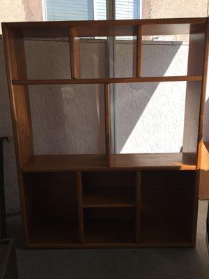 Entertainment center/book shelve/storage for Sale in Irvine, CA