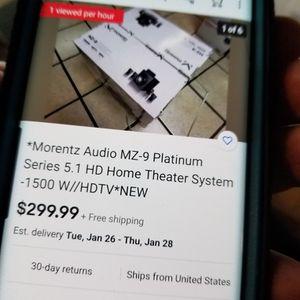 Moretz Stereo Surround System MZ-9 for Sale in Vista, CA