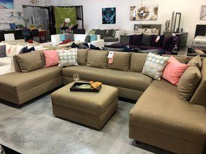 3 Piece U Sectional Sofa for Sale in Miami, FL
