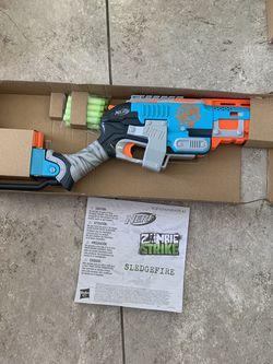 Nerf Zombie Strike Sledgefire Blaster for Sale in Fort Lauderdale,  FL
