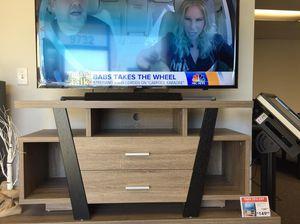 Daisy Tv Stand, Black & Dark Taupe , SKU # 151309 for Sale in Pico Rivera, CA
