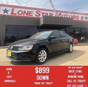 2015 Volkswagen Jetta for Sale in Fort Worth, TX